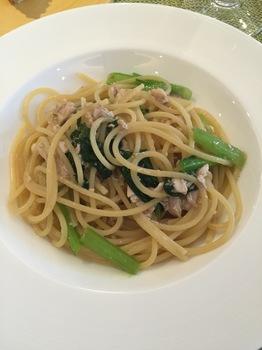 051219_アクオリーナ_イナダと小松菜のペペロンチーノ.JPG