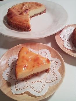 2010.05.09 ヨーグルトチーズケーキ