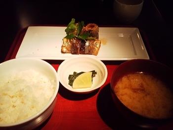 NAE_プレートランチ 秋刀魚の大葉巻き揚げ