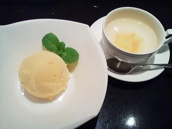 五穀亭_韓美_ゆず茶・かぼちゃアイス