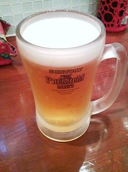 ダブルハピネスダイニング_生ビール