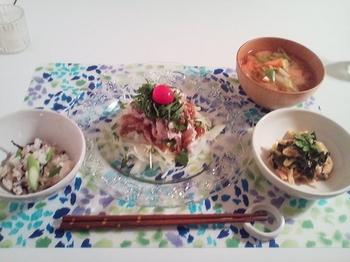 2011.08.09 お夕飯