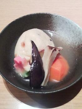 不二乃_がんもと秋野菜の炊き合わせ