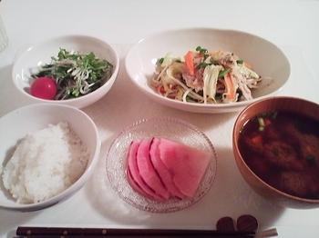 2011.11.21 お夕飯