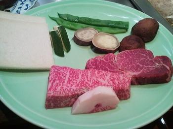 鉄板焼 よこはま_ステーキ&野菜