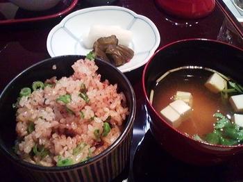 鉄板焼 よこはま_浅葱とニンニクの炒め御飯