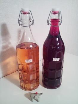 2010年ビワ酒&2011年ベリーベリー酒