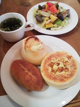 cafe four_パンビュッフェ