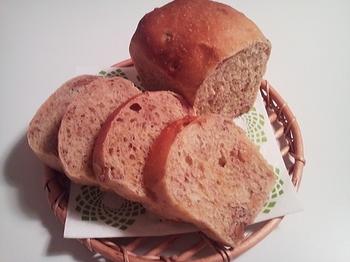 山角_黒糖クルミパン