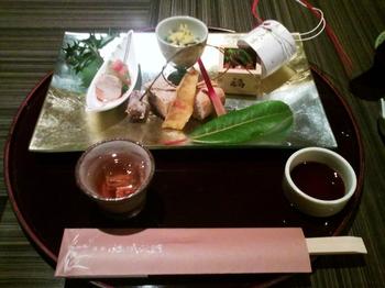 2012.02.19 嵯峨沢館 お夕飯