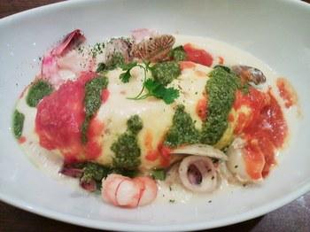 dish_海の幸のトマトチーズソース