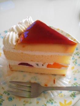 不二家_プリンのショートケーキ