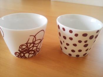 DOODLE FREE CUP ボコボコ&ミズタマ