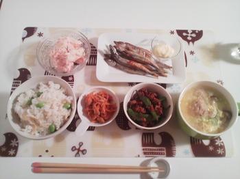 2012.08.28 お夕飯