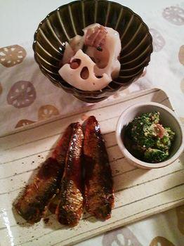 2012.10.23 お夕飯