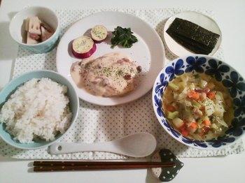 2012.10.25 お夕飯