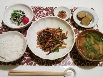 2012.11.10 お夕飯