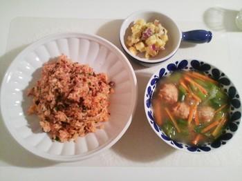 2012.11.18 お夕飯