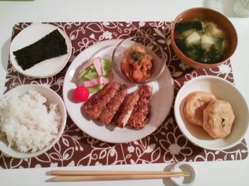 2012.11.21 お夕飯
