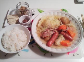2012.12.05 お夕飯