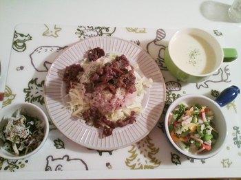 2012.12.18 お夕飯