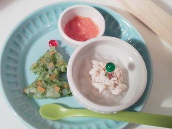 2012.12.24 離乳食