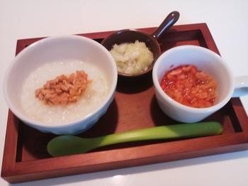 2013.01.22 朝ご飯