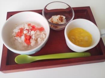 2013.01.23 朝ご飯