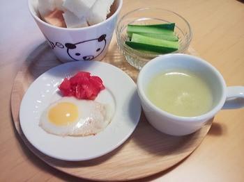 2013.04.21 朝ご飯
