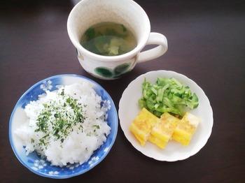 2013.05.02 朝ご飯