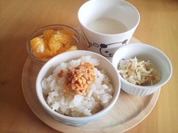 2013.07.01 朝ご飯