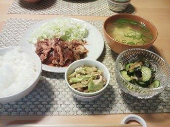 2013.07.30 お夕飯