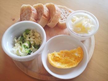 2013.08.06 朝ご飯
