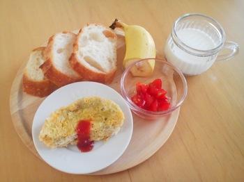 2013.08.31 朝ご飯