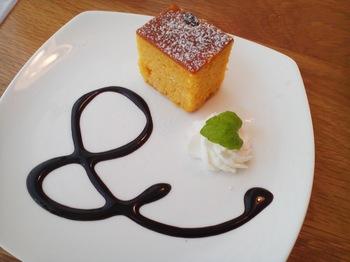 &comodia_かぼちゃのケーキ