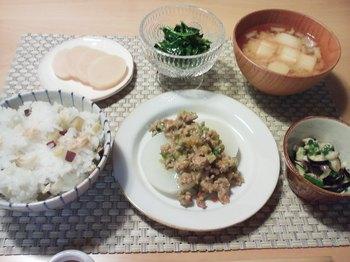 2013.11.25 お夕飯
