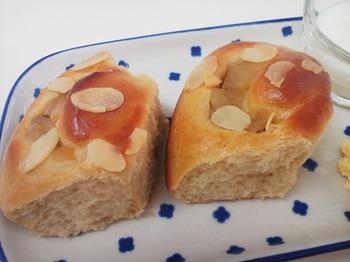 2013.11.29 ohana_りんごパン