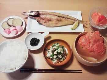 2013.12.09 お夕飯