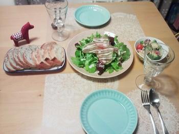 2013.12.25 クリスマスディナー