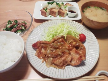 2014.03.30 お夕飯