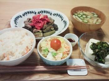 2014.08.07 お夕飯