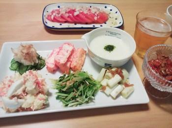 2014.08.09 お夕飯