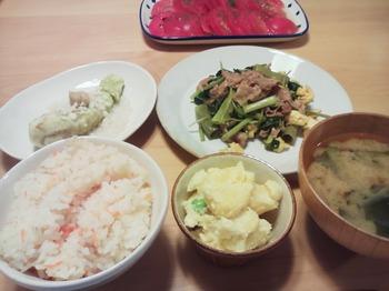 2014.08.25 お夕飯