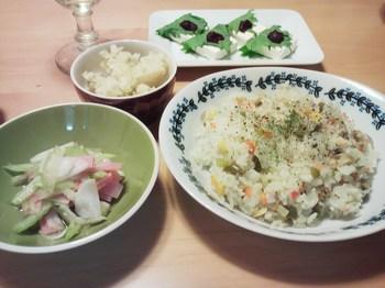 2014.10.12 お夕飯
