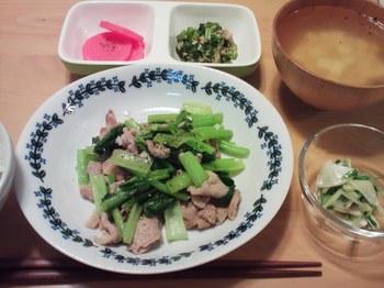 2014.10.30 お夕飯