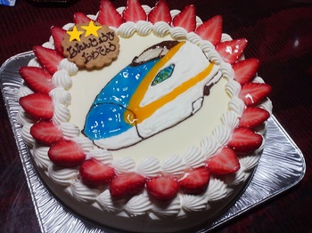 2015.05.05 BDケーキ