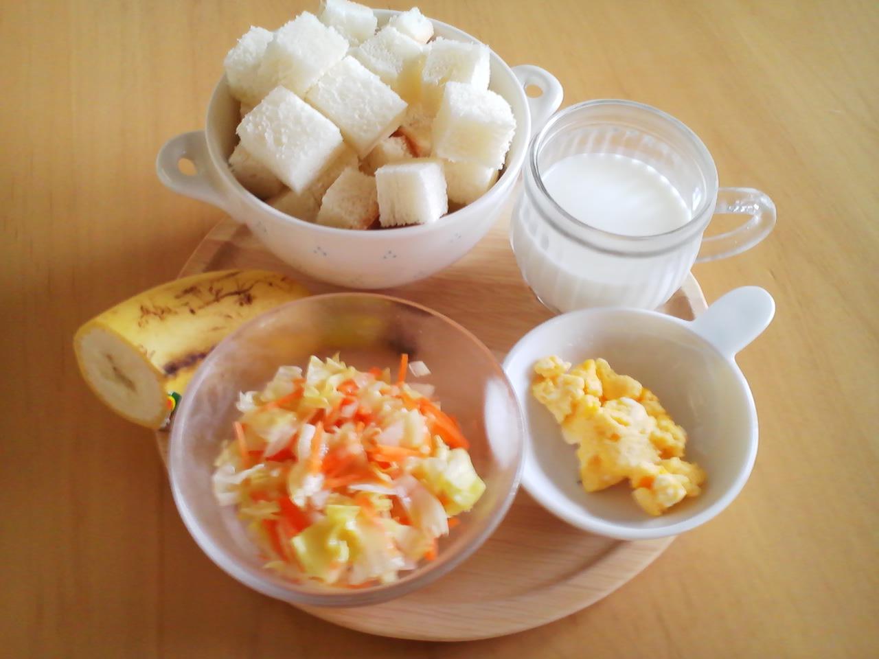 2013.08.03 朝ご飯. パン